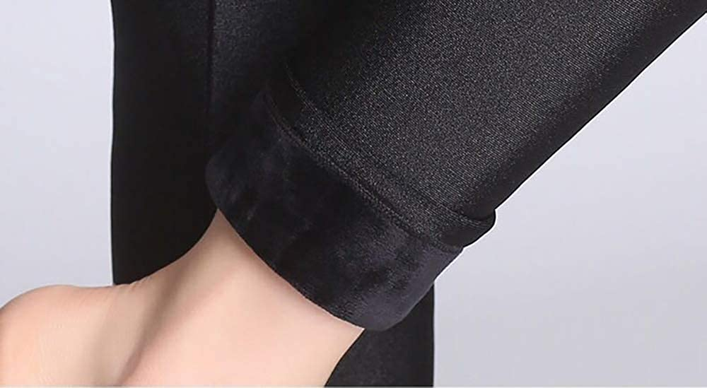 Pluto /& Fox Leggings Pantal/ónes T/érmico Para Mujer De Brillo Suave Talla Grande Con//Sin Forro Polar Elegible Elegante Super El/ástica Tama/ño L-XXXXL