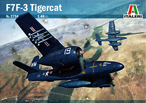 Used, ITA2756 1:48 Italeri F7F-3 Tigercat [MODEL BUILDING for sale  Delivered anywhere in USA