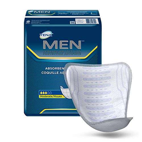 TENA Incontinence Guards for Men, Moderate Absorbency, 144 Count (4 case(144 Count)) by TENA (Image #1)
