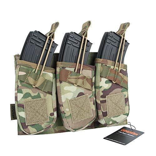 EXCELLENT ELITE SPANKER Tactical Open Top Magazine Single/Double/Triple AK Mag Pouch(MCP)