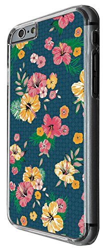 1436 - Cool Fun Trendy cute shabby chic flowers roses daisy flora colourful wallpaper Design iphone 5C Coque Fashion Trend Case Coque Protection Cover plastique et métal - Clear