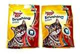 Cheap Meow Mix Brushing Bites Cat Dental Treats Made with Real Salmon and Chicken, 4.75 oz