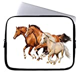 Neafts Horse Waterproof Neoprene Laptop Sleeve Carrying Case Cover Protective Bag for 15-15.6 Inch MacBook Pro, Ultrabook Netbook Tablet
