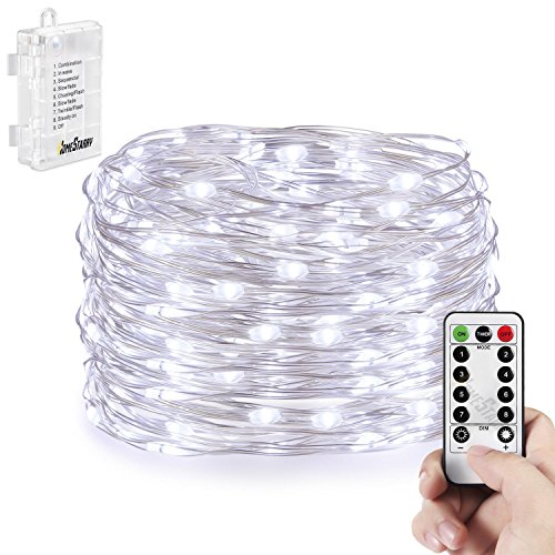 Homestarry Battery String Lights : Homestarry 66 LED Mini Battery String Lights, 16 Feet, Cool White in the UAE. See prices ...