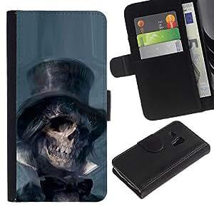 All Phone Most Case / Oferta Especial Cáscara Funda de cuero Monedero Cubierta de proteccion Caso / Wallet Case for Samsung Galaxy S3 MINI 8190 // Lincoln Abraham President Dead