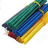 YEJI 60Pcs (6 Color) Hot Glue Sticks 0.27'' Diameter 5.9'' Length Suitable for Mini Hot Glue Gun Toy &DIY Repair Accessories