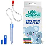 Nose Cleaner– Baby Nasal Aspirator- Booger Picker Suction- Snot-Sucker For Congestion Relief – Safe and Hygienic Snot Remover to Clear Infant Nostril and Remove Newborn Babies Mucus by Little Comforts