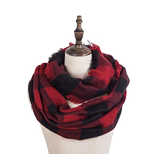 Seven Flowers Knitted Infinity Scarves product image