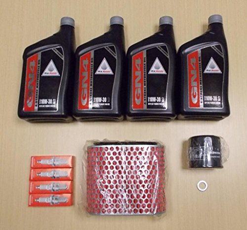 (New 1995-2007 Honda VT 1100 VT1100 Shadow Sabre Complete Oil Service Tune-Up Kit)
