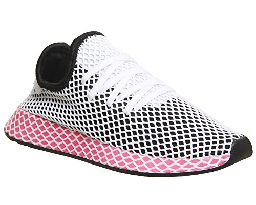 Adidas Womens Runner W W, Nero / Nero Nucleo / Gesso Rosa Nero / Nero Nucleo / Gesso Rosa