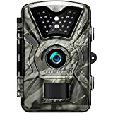 Earthtree Trail Game Camera 12MP 1080P Deer Hunting Camera with 940nm IR LEDs,0.5s Trigger Speed,Night Vision Up to 65ft/20m,2.4 Display,IP66 Water Resistance for Game & Home Security