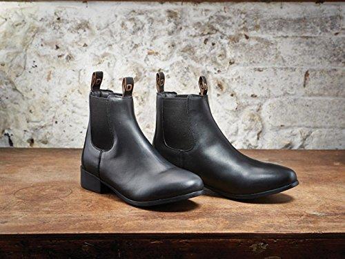 Dublín Fundación adultos Jodhpur botas negras 11UK