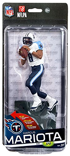 Marcus Mariota Tennessee Titans NFL 37 McFarlane Collector Level Silver CHASE #/1000 by Unknown