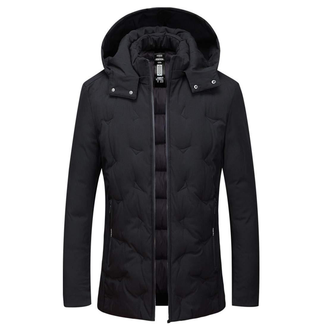 CAI&HONG-GUO GCH Unten Baumwolle Kleidung Herbst und Winter Lange Abschnitt Freizeit männlich
