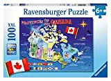 Ravensburger Map of Canada Puzzle (100-Piece)