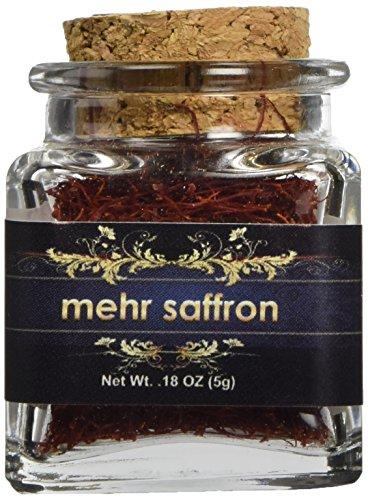 Mehr Saffron Premium All Red Saffron 0 18 Oz 5 Gram