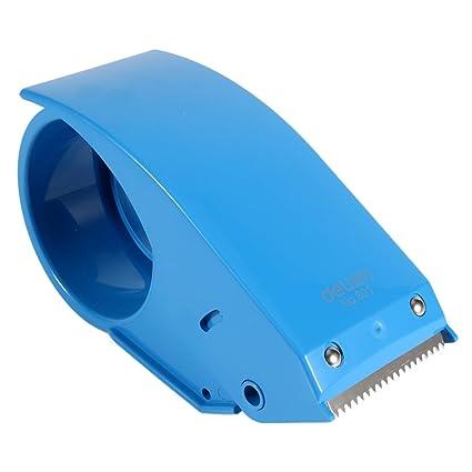 Dispensador de Cinta Adhesiva de 48 mm y 2 pulgadas, Empacadora(Azul)