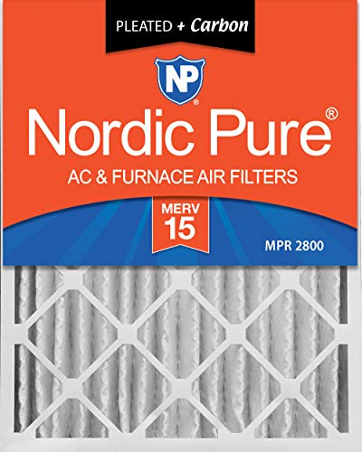 charcoal air filter 16x25 - 5