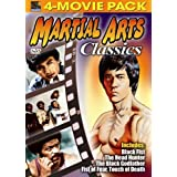 Martial Arts Classics 4-Movie Pack - Black Fist, Head Hunter, Black Godfather, Fist of Fear, Touch of Death by Chow Yun Fat