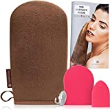 The Ultimitt. Applicator for self tanning, creams, lotions and more | Self use tanning lotion and creme applicator for your body back and hard to reach areas of your skin (Self Tan Applicator)