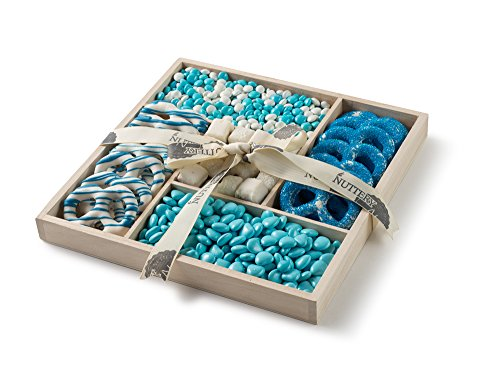 The Nuttery Classic Chocolate and Candy Baby Gift Basket ~ Baby Boy