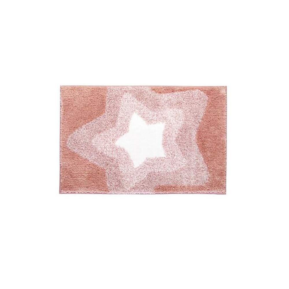 Non-slip pad ZMIN Bathroom Mat Carpet Bedroom Door Mat Not Easily Deformed No Hair Removal Foot Pad Strong Water Absorption Anti-Slip Adsorption
