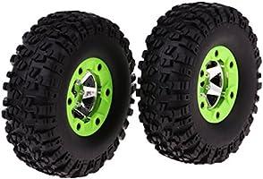 2Pcs 12428 0070 Left Tire Tires for 1//12 Wltoys 12428-0070 RC Car Parts