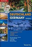 Germany Road Atlas/Reiseatlas Deutschland : 1:300,000 scale : 2018/2019 Edition (English and German Edition)