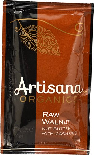 Artisana Organic Nut Butter with Cashews Squeeze Pack Raw Walnut -- 1 Packet - 2 pc