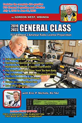 2019-2023 General Class (Ham License General)