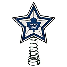 Memory Company NHL-TML-690 Toronto Maple Leafs AG Tree Topper, One Size, Multi Color