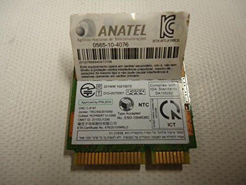 Toshiba Satellite C655 C655D Wireless WiFi Mini-Card RTL8188CE