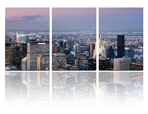 mon-art-16x24-inch-x3-pics-new-york-manhattan-metlife-light-night-city-nightscape-painting-originali