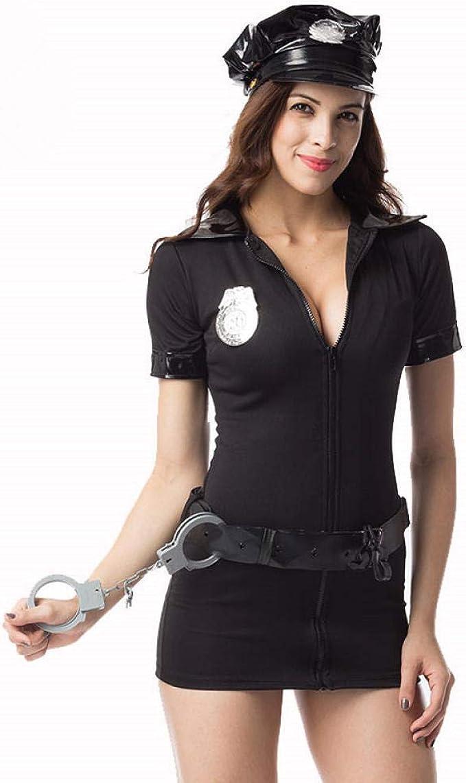 Conjuntos De Lencería Para Mujer Cosplay Disfraz De Mujer Policía ...