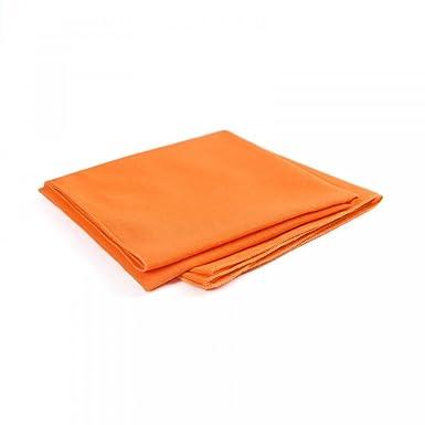 Allée du foulard Bandana coton Orange uni  Amazon.fr  Vêtements et ... 523aebb60a2