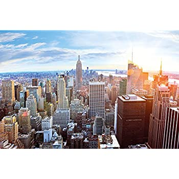 amazon com xxl poster new york city skyline wall picture