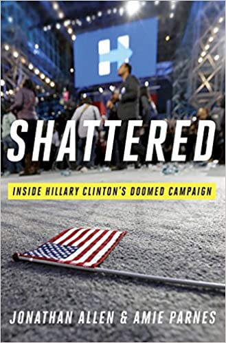 Image result for shattered clinton