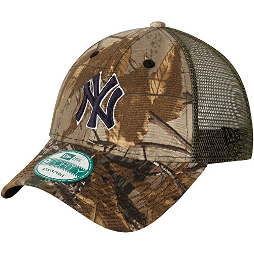 New York Yankees New Era Trucker 9FORTY Adjustable Hat Realtree (Yankees Camo)