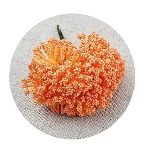 DraFenn 12Pcs/Lot Foam Chives Flower Artificial Flowers Handmade DIY Festive Party Supplies Wedding Decoration 1