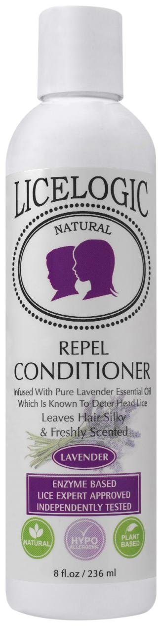 LiceLogic Natural Enzyme Based Lice Repel Conditioner, 8 oz (Rosemary Mint) Logic Products No Model