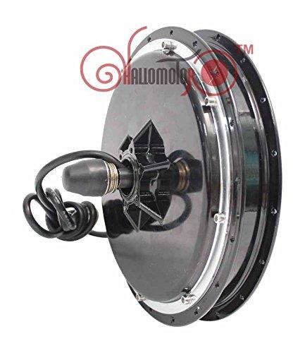 Latest 24V 36V 48V 500W Electric Motor For Bikes Brushless Gearless Hub Motor eBike Most Powerful Kits Front Wheel Motor E-bike
