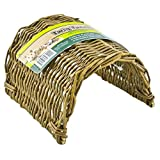 Image of Ware Manufacturing Hand Woven Willow Twig Tunnel Small Pet Hideout, Large