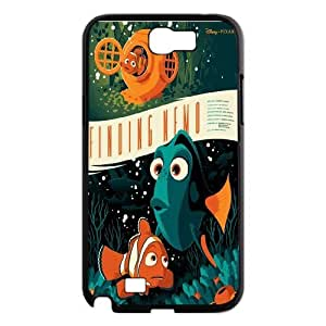 FOR Samsung Galaxy Note 2 Case -(DXJ PHONE CASE)-Finding Nemo - Keep Smile-PATTERN 15