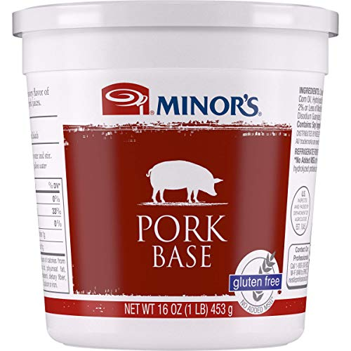 Base Stock - Minor's Pork Base, 16 Ounce