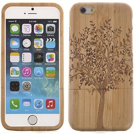 iphone 7 coque bambou