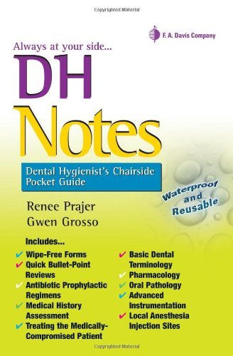 DH Notes: Dental Hygienist's Chairside Pocket Guide Pdf