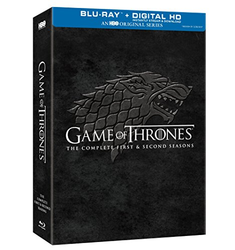 Game of Thrones Complete First & Second Season [Blu-ray]