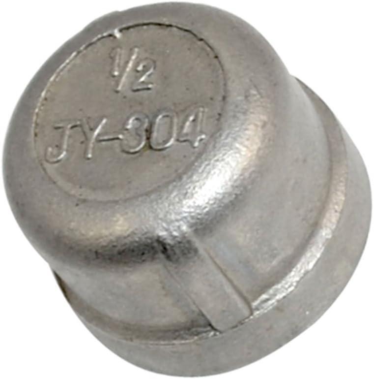 Acier inoxydable 304 Cast Raccord filet/é de tuyau 3//8 NPT Femelle bouchon