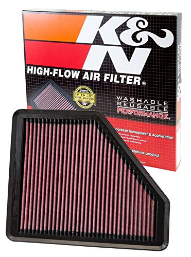 K&N 33-2958 High Performance Replacement Air Filter (Marine Replacement Engine)