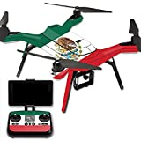 MightySkins Protective Vinyl Skin Decal for 3DR Solo Drone Quadcopter wrap cover sticker skins Mexican Flag